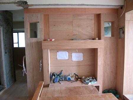 木工花格子造型图片